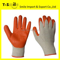 Cheap Cotton knitting Industrial Rubber Gloves Nitrile Industrial Gloves