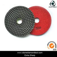 3m diamond glass polishing pad for angle grinder