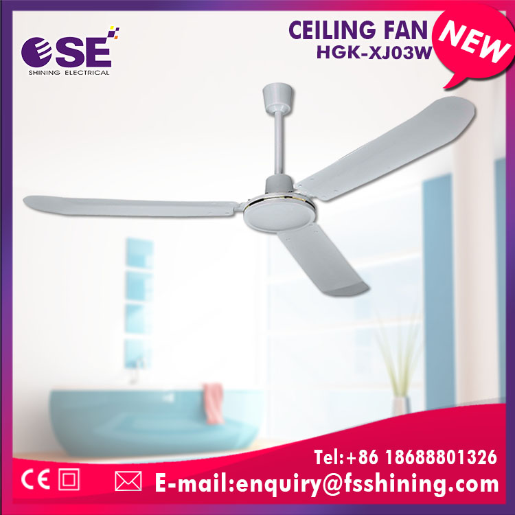 Well design cooper motor iron material HGK-XJ03W ceiling fan