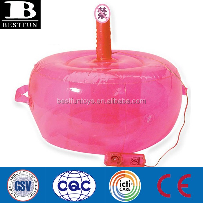 promotional custom inflatable toys for women portable travel sex chair with dildo femail sex ball seat