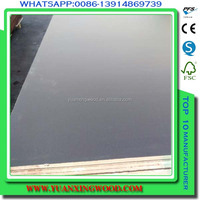 film faced plywood for concrete form work use (16mm thickness )