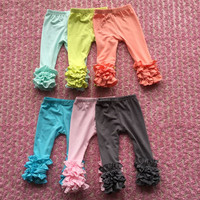 Hot Style Baby Icing Ruffle Pants