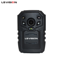 LS VISION 32MP 170 Degree Wide Angle Police Body Video Worn Camera with 3G 4G GPS for Law Enforcement