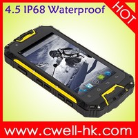 New product unlocked Snopow M8C MTK6572 dual core IP68 rugged waterproof cell phone