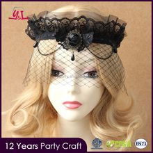 Most Popular Products Dot Sex Black Lace Lolita New Style For Gothic Queen Accessory