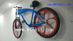 blue color gas tank built bike for sale in year 2016/ motorized bikes/ petrol bikes bicycles