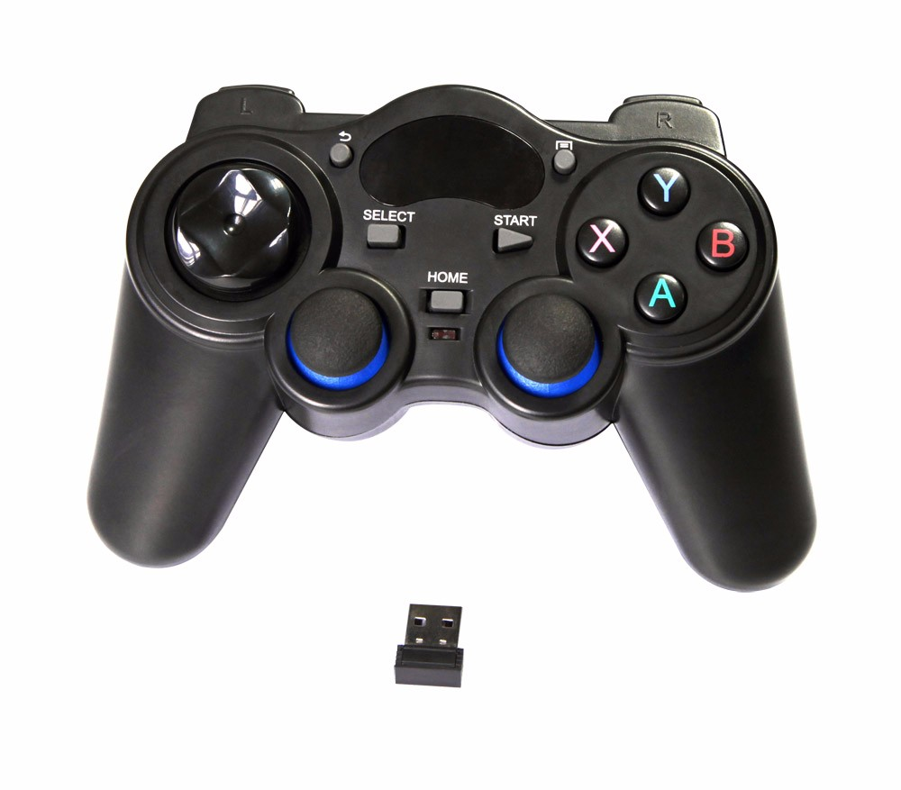 2017 promotion portable one handed game controller,bluetooth Wireless Gamepad,original console + games + controllers