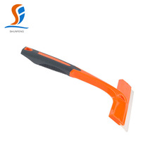 Comfortable grip car window cleaning silicone squeegee