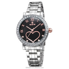 SKONE 7304 top brand Vogue waterproof watch with diamond