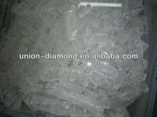 99.999% transparent crackle hotselling high purity alumina sapphire ingot growing