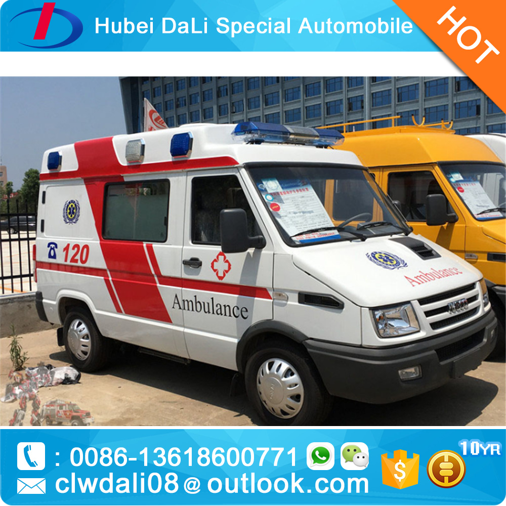 high quality IVECO car Emergence Vehicle 4*2 ambulance
