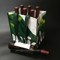 Good quality wine bottle bag for promotion