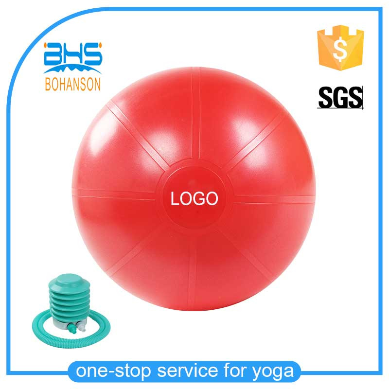 gym ball abdominal exercise , yoga fitness ball with band