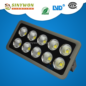 Project Use AC85-265V CRI80 Outdoor Led Flood Light 500w