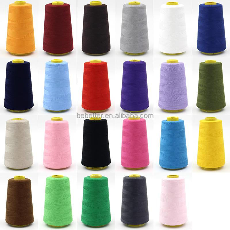 40s/2 100% Polyester spun sewing thread