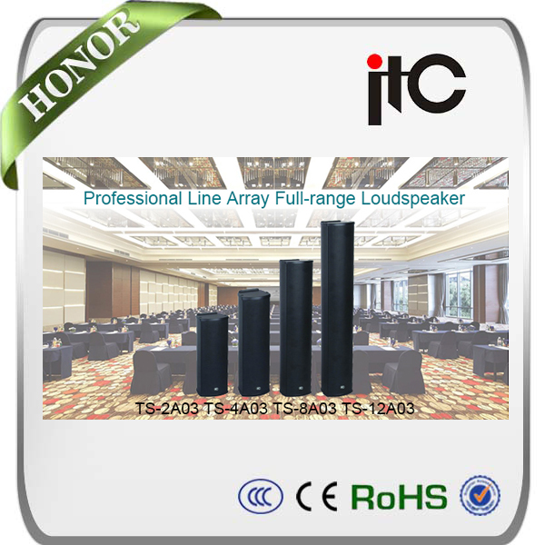 ITC Professional Line Array Speaker full range for conference room sound system