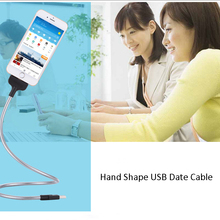 Colorful cellphones accessories universal 2 in 1 charging usb date cable with high quality for smartphone