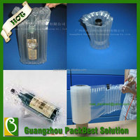 PBW325 2014 Top selling low cost shockproof decorative luxury wine gift bag for wine