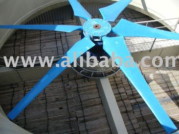 Fans for cooling tower