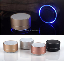 Hot selling promotional gift wireless mini bluetooth speaker new cool speaker FM LED Wireless Portable Mini Bluetooth Speaker