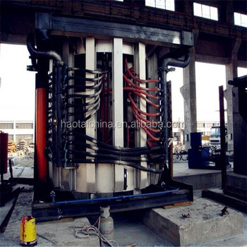 100kg induction melting furnace for iron and steel casting machinery