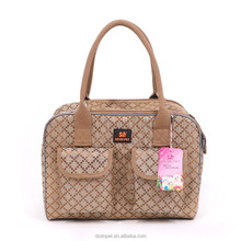 Luxury Pet Carrier Cat Dog Out-of-Pocket Pet Carrier Travel Pet Tote Bag