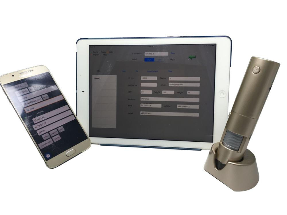 Portable Facial Skin Analyzer That Can Detect Moisture And Pigment