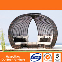 HL-2001 Good Quality Resin wicker material Cheap balcony furniture Home Made in Foshan China