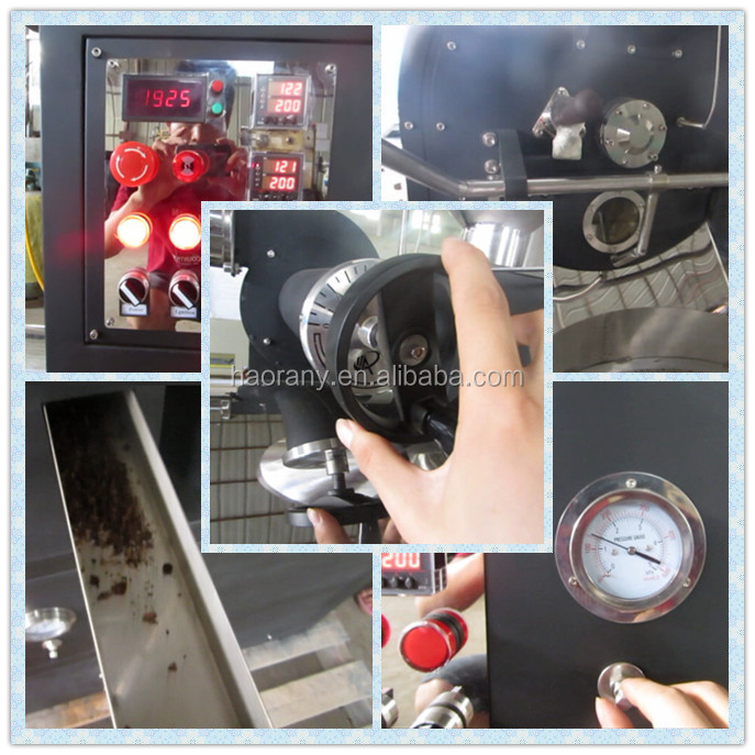 6kg coffee roaster machine with low price factory supply directly