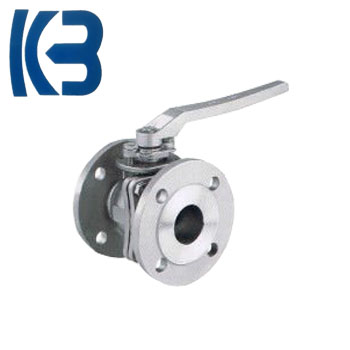 China product price list 2 PC Flanged ball valve with high quality