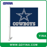 30x45cm 100D Polyester Dallas Cowboys car flag