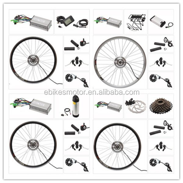 "20"" 24"" 26"" 28"" 700c rear wheel front wheel electric bike kit with cruise speed control"