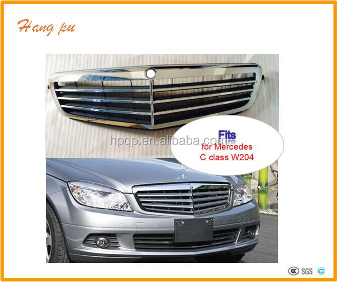 ABS front bumper grille gril A2048801283 for w204 <strong>C</strong> class Elegance 2007 upwards
