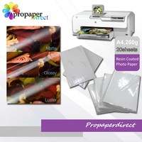 Premium waterproof resin coated matte photo paper