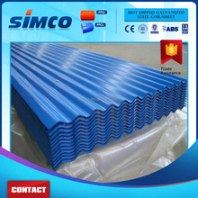 Wholesale materials step tile roofing sheet Galvanized Corrugated Wave Sheet