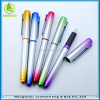 Cheap promotional writing instruments fancy gel ink pens