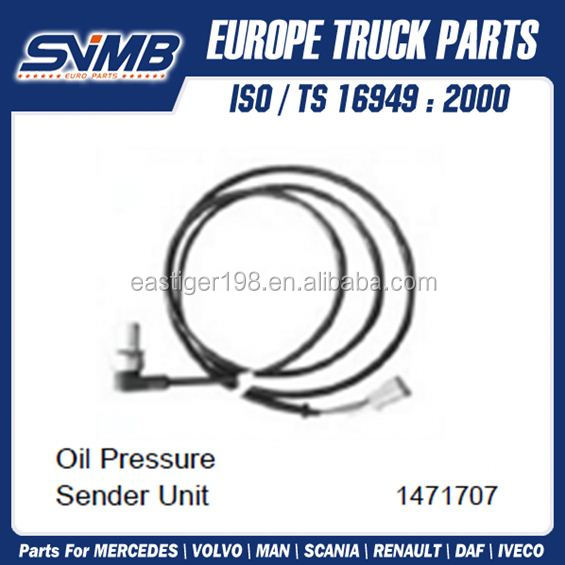 High Quality Oil Pressure Sender Unit 1471707 For Scania 4 Series / P/G/R/T Series