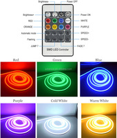 Outdoor 2835 1200 led neon strips light 100m 120led/m led strip neon RGB 220V