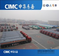 CIMC 3 axle oil fuel tanker truck trailer in kenya