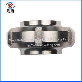stainless steel 316 polishing sanitary union