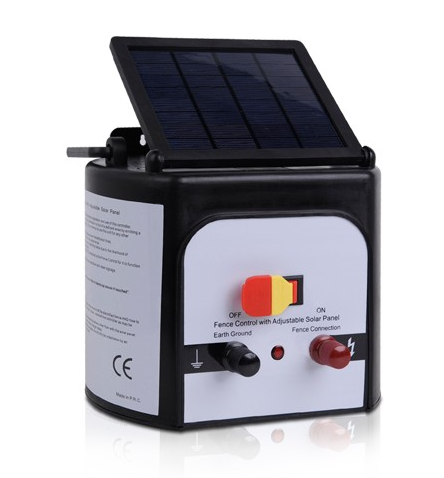 2016 JXI SOLAR ELECTRIC FENCE ENERGIZER with Solar Panel