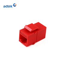 Best Sale Cat5e/Cat6 Female to Female RJ45 Inline Keystone Coupler Jack