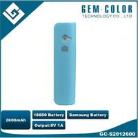 Self-Timer Selfie 2600 mah Power Bank Samsung 18650 Li ion Battery For Android and IOS