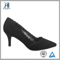 2014 Sexy stilettos leather mtrl sparkle edge high heel shoe