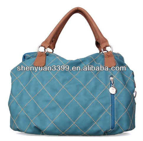 high quality office lady tote fashion cow leather handbags