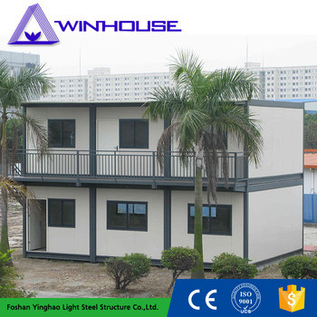 Light Steel Structure Portable Container Homes For Sale