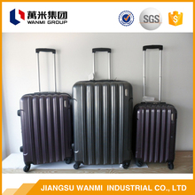 New products 2017 ABS retractable luggage handles trolley luggage bag