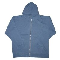 Garment Dyed Enzyme Wash Cotton French Terry Hoodie (DSC01235)