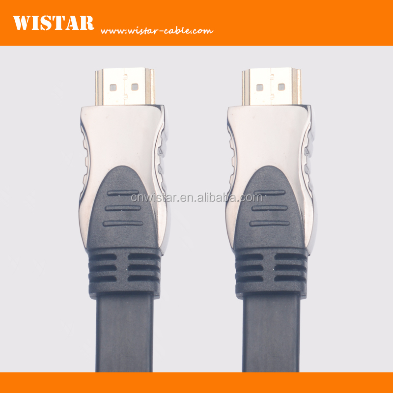 WISTAR high speed hdmi flat cable 1.4v for computer best price hdmi cable for ps2