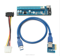 VER007 pcie x16 pci express video card with 60cm USB3.0 cable